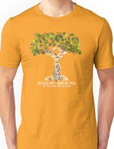 Bike Tree (white) Unisex T-Shirt