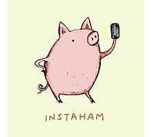 Instaham Photographic Print