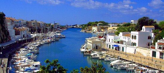 Ciutadella Harbour by Tom Gomez