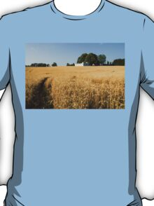 A Path in the Golden Wheat Field T-Shirt