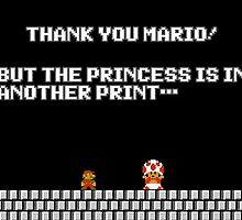 Thank you Mario! by Laharl