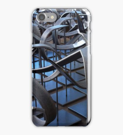 kinetic artistic imprecision II iPhone Case/Skin