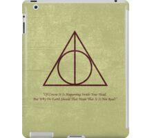 Dumbledore to Harry iPad Case/Skin