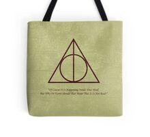 Dumbledore to Harry Tote Bag