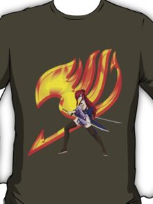 Erza Fairy Tail 10 T-Shirt