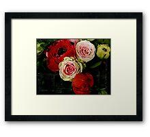 { flowers } Framed Print