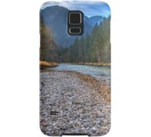 River bank Samsung Galaxy Case/Skin