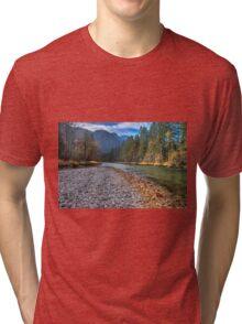 River bank Tri-blend T-Shirt