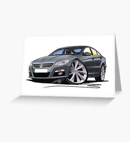 VW Passat CC Grey Greeting Card