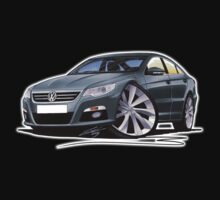 VW Passat CC Grey One Piece - Short Sleeve
