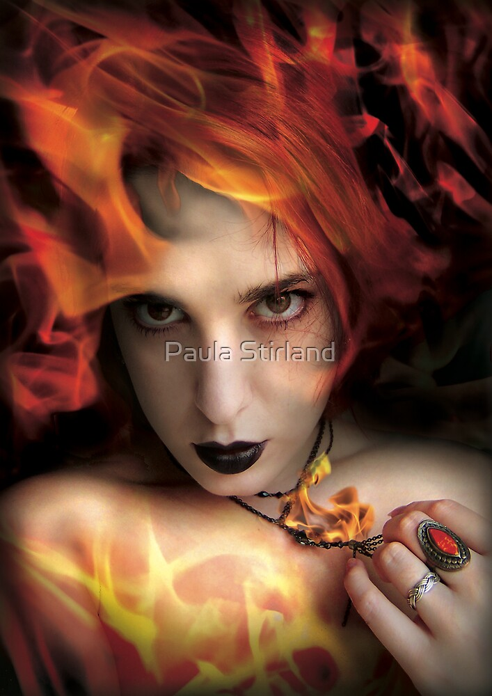 She is of Fire by Paula Stirland