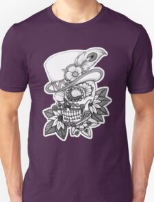 Tophat skull day of the dead T-Shirt