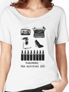 Bukowski: the survival kit Women's Relaxed Fit T-Shirt