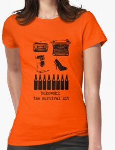 Bukowski: the survival kit Womens Fitted T-Shirt