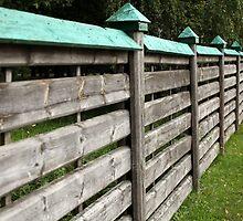 privacy wooden fence by mrivserg