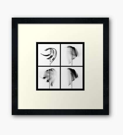 Kinetic Artistic Imprecision III Framed Print