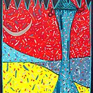 TOWER SERIES TOWER OF LAUGHTER by WENDY BANDURSKI-MILLER