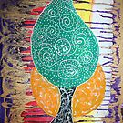 TRIBAL TREE by WENDY BANDURSKI-MILLER