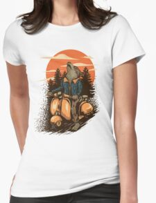lonely rider Womens Fitted T-Shirt