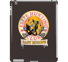 Elite Hunting Club (EHC) iPad Case/Skin