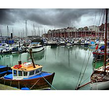 Ramsgate Marina Photographic Print