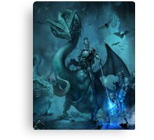 Dark knight Canvas Print