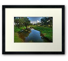 Glen Davis Creek Framed Print