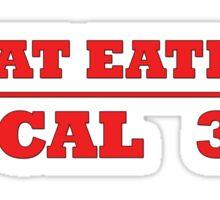 MEAT EATERS Sticker