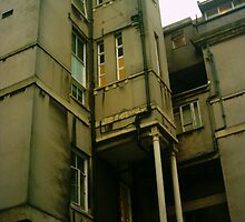Bristol Royal Infirmary by peter  kidd