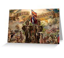 Rule Britannia Greeting Card
