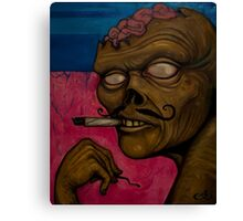 Zombie Tokes Canvas Print