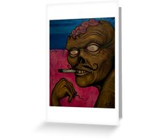 Zombie Tokes Greeting Card
