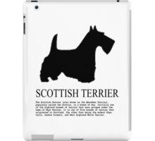 scottish terrier iPad Case/Skin