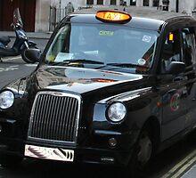 London taxi, by gsklirisg