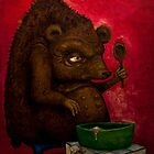 Who the Funk ate my Porridge (oiloncanvas) by DoodlesnDrips