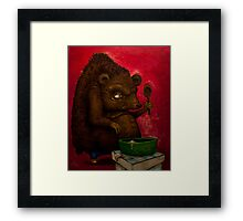 Who the Funk ate my Porridge (oiloncanvas) Framed Print