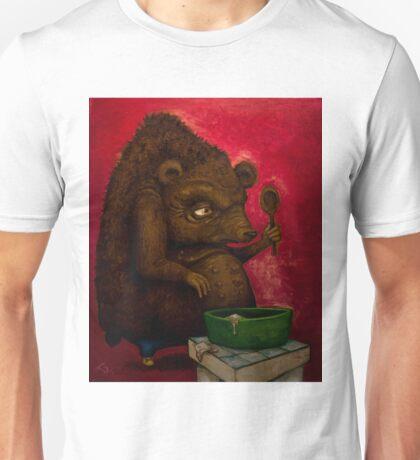 Who the Funk ate my Porridge (oiloncanvas) Unisex T-Shirt