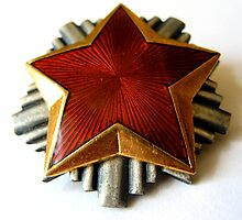 RED STAR COMMUNISTS PIN by SofiaYoushi