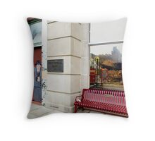 History Lost Throw Pillow