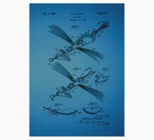 Fish Lure Patent 1933 Kids Clothes