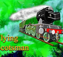 Flying Scotsman with Blinkers - all products bar duvet by Dennis Melling