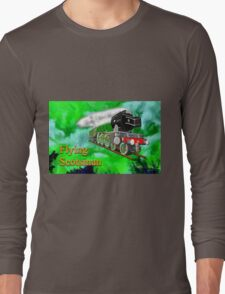 Flying Scotsman with Blinkers Long Sleeve T-Shirt