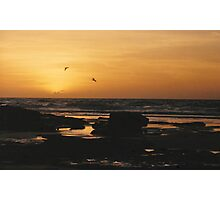 Cable Sunset Photographic Print