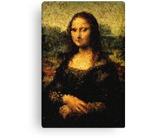 Gioconda Glass Canvas Print