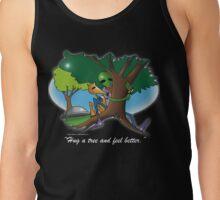 hug a tree and feel better Tank Top