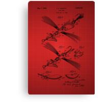 Fish Lure Patent  Canvas Print