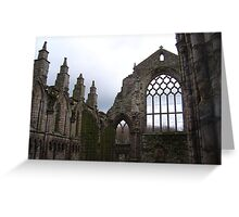 Holyrood Abbey Greeting Card