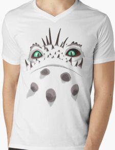 Valka's Bewilderbeast fiery eyes Mens V-Neck T-Shirt