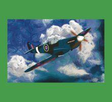 Supermarine Spitfire WWII One Piece - Short Sleeve