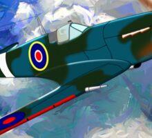 Supermarine Spitfire WWII Sticker